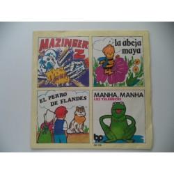 MAZINGER Z, ABEJA MAYA, PERRO DE FLANDES Y TELEÑECOS