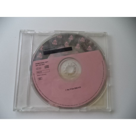 MADONNA. CD PROMOCIONAL
