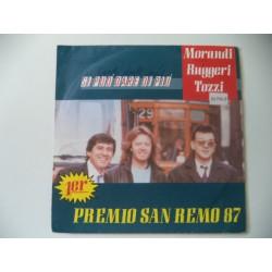 """MORANDI RUGGERI TOZZI. SINGLE 7"""" PROMOCIONAL."""