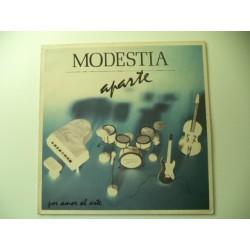 MODESTIA APARTE